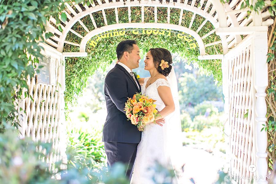 Denise Ryan South Coast Botanic Garden Wedding